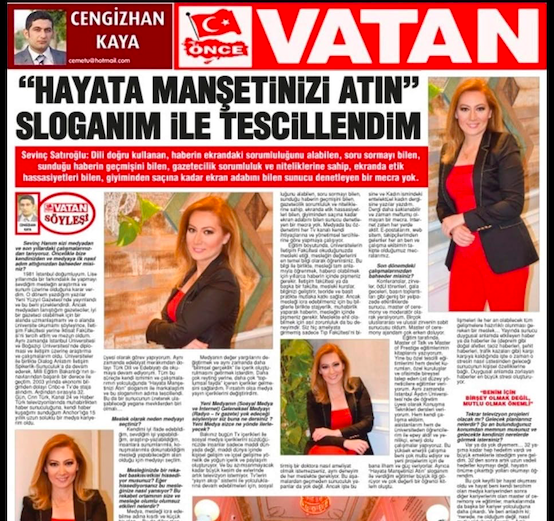 VATAN GAZETESİ-15 EKİM 2018