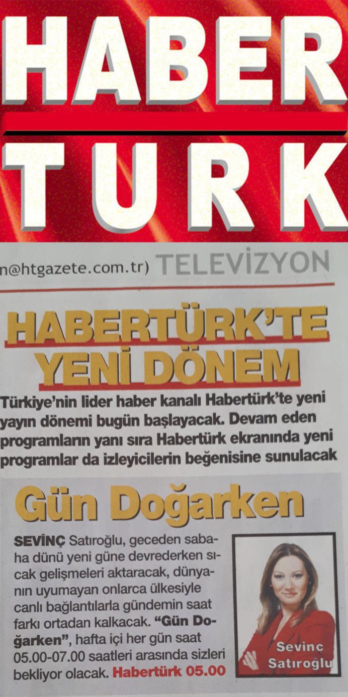 Sevinç Satıroğlu Habertürk Tv Anchor Haber Sunucu Spiker Moderatör