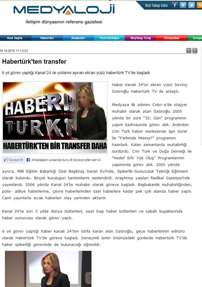 Sevinç Satıroğlu Habertürk Tv Anchor Haber Sunucusu Spiker Moderatör 3