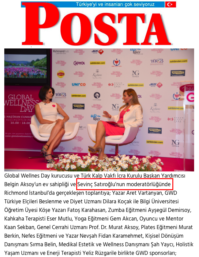 Sevinç Satıroğlu Moderatör Sunucu Master of Ceremony 12