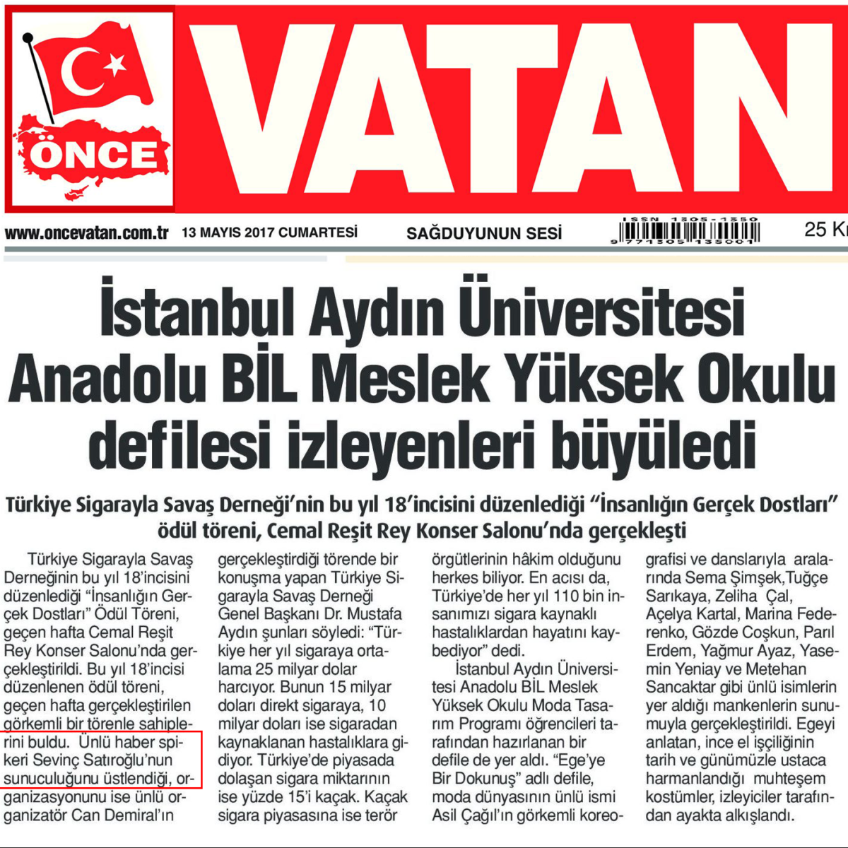 Sevinç Satıroğlu Sunucu Master of Ceremony 9