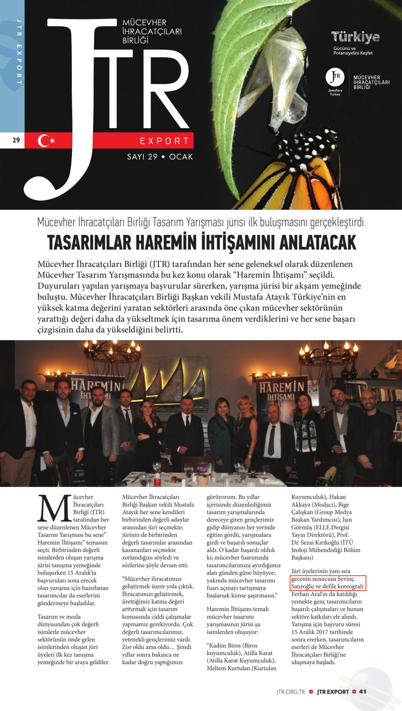 Sevinç Satıroğlu Sunucu master of ceremony 4
