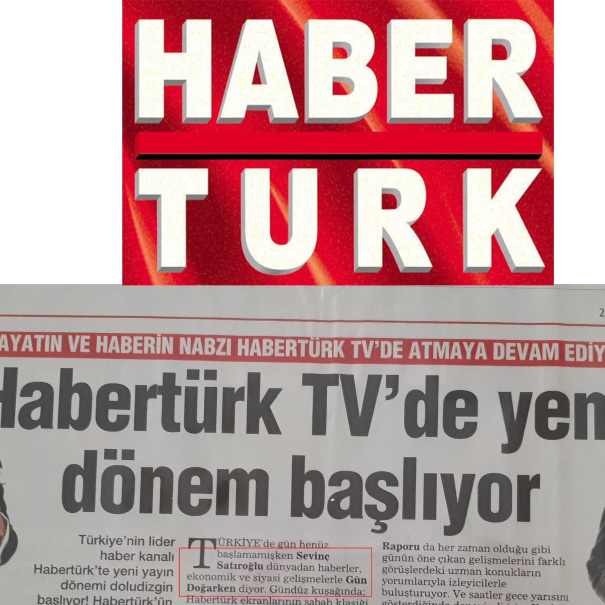Sevinç Satıroğlu Tv Anchor Haber Sunucu Habertürk Spiker Moderatör