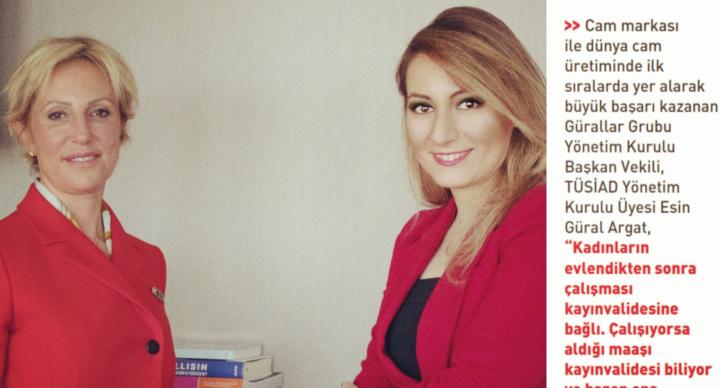 """""""KADINLARIN ÇALIŞMASI KAYINVALİDESİNE BAĞLI"""" - ESİN GÜRAL ARGAT İLE ROPÖRTAJ - Kadın Dergisi"""